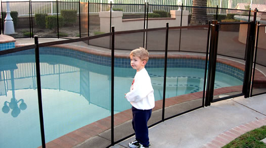 Your child will be safe and sound with an Omni security fence