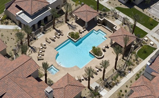 Apartment Pools can be a very complex build, Omni is an expert builder for this type of job