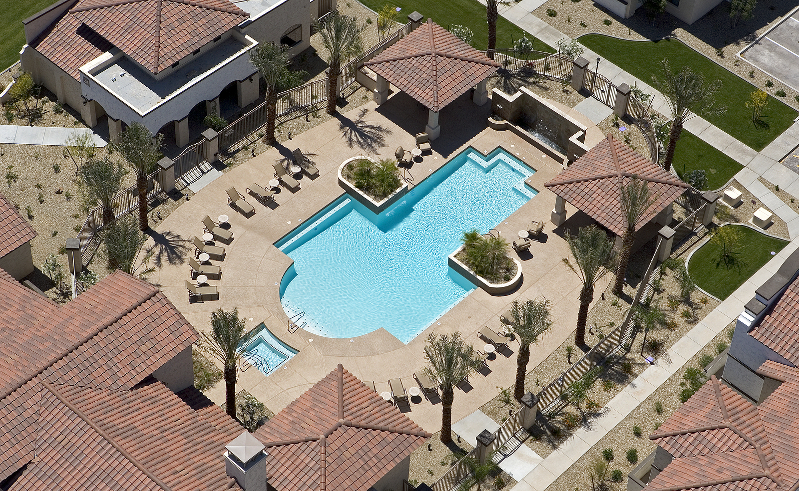 apartment pools can be a very complex build omni is an expert builder for this type of job