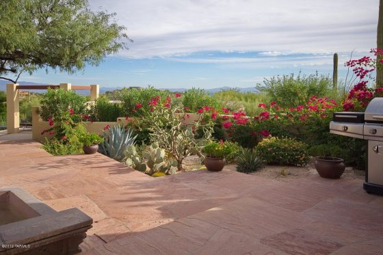 Install a deck to match the desert ambiance