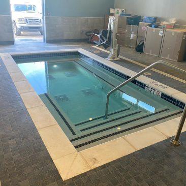 Chuze Fitness New Pool Construction