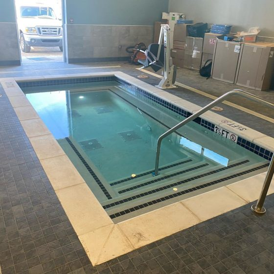 Chuze Fitness New Pool Construction
